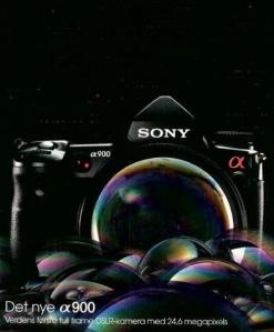 Sony a900 Danish Ad