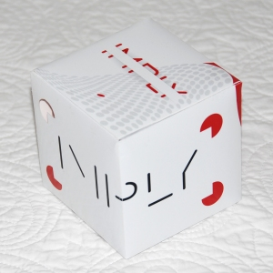 Front View of a Cube