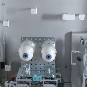 Tech-Optics animatronic dark blue eyes