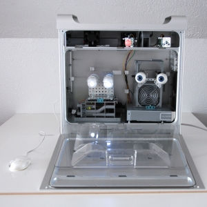 two pairs of animatronic eyes in a G5 case