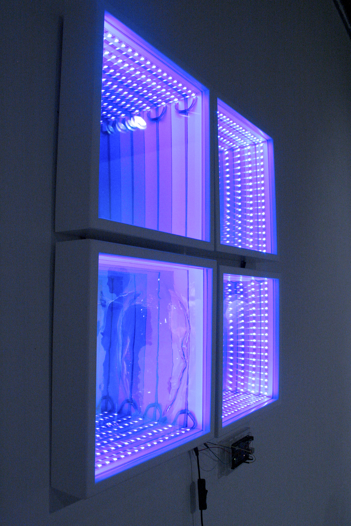Infinity Mirror With An Acrylic Face Shutterthyme S Blog